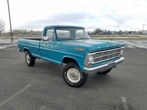 ISO 1967-1972 Ford 4x4