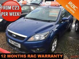 Ford Focus 1.6 Zetec - FULL SERVICE HISTORY! FINANCE AVAILABLE AT LOW RATES!