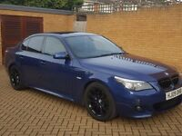 09 BMW 520 DIESEL M SPORT AUTO LCI IN MINT CONDITION- PX WELCOME