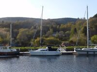 Hunter 245 Bilge Keeled Yacht,with Inboard Diesel Engine, built in 1998. Nice condition.
