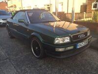 Audi 80 2.6 V6 Auto Convertible New Roof 18'' Alloy Wheels