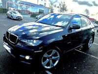 2008 BMW X6 3.0D XDRIVE WITH PRIVATE PLATE HPI CLEAR SWAP PX (not x5 s3 rs4 gtd s5 m135i)