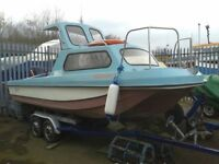 17ft Wilson Flyer boat ready to go PX swap welcome