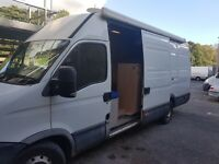 Iveco daily race/day van 2009 . Rear garage full awning leisure battery and hook up
