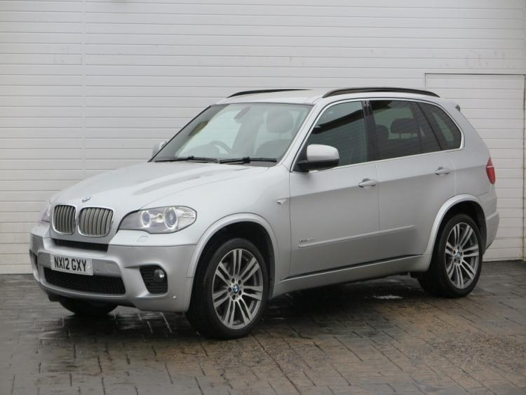 2012 bmw x5 2012 12 bmw x5 3 0d xdrive 40d m sport auto 306bhp diesel silver aut in. Black Bedroom Furniture Sets. Home Design Ideas