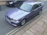 E36 Bmw 318Is 1.9 TWIN CAM Individual Edition Rare MOT 24/10/2021