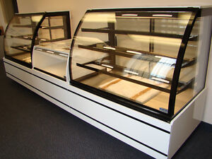 Refrigerated Pastry Gelato Cheese Meat Displays & Open Coolers -