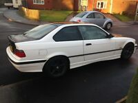 SPARES OR A SIMPLE REPAIR BMW E36 COUPE 2.5 LITRE