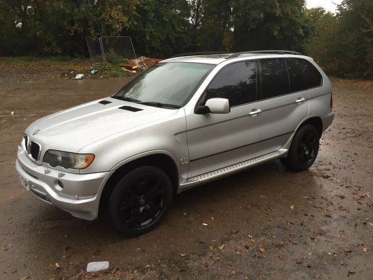 2003 bmw x5 3 0 diesel auto full black leather tvs. Black Bedroom Furniture Sets. Home Design Ideas