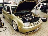 VW GOLF ESTATE 1.8T SHOW CAR, AIR RIDE, R32 INTERIOR 220BHP GTI VR6 BORA AUDI