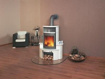 Hark Kaminofen Dauerbrandofen Avenso (7 kW) Ofenkacheln creme-weiss