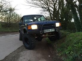 AWESOME LAND ROVER TDI 300 OFF ROAD 4X4 MONSTER TRUCK WITH MOT, SWAPS.PX.CASH