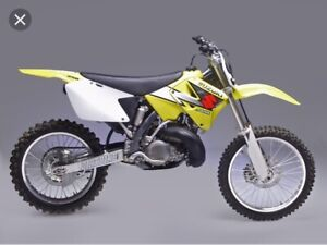 Looking for a 2001 Suzuki rm 250 gas tank and air box