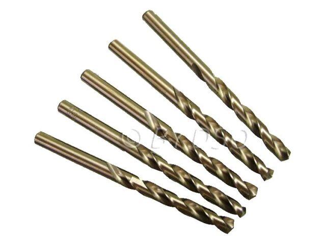 US PRO 5 Piece 8.5mm 5% Cobalt Fully Ground HSS Drill