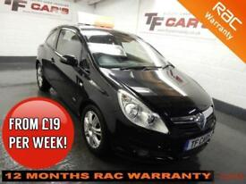 2009 09 Vauxhall Corsa 1.4i 3 DR Design - FINANCE FROM ONLY £19 PER WEEK!