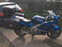 2001 Kawasaki ZZR600 w/ Full GIVI Luggage - ZZR - 600 - Panniers - Sports Touring