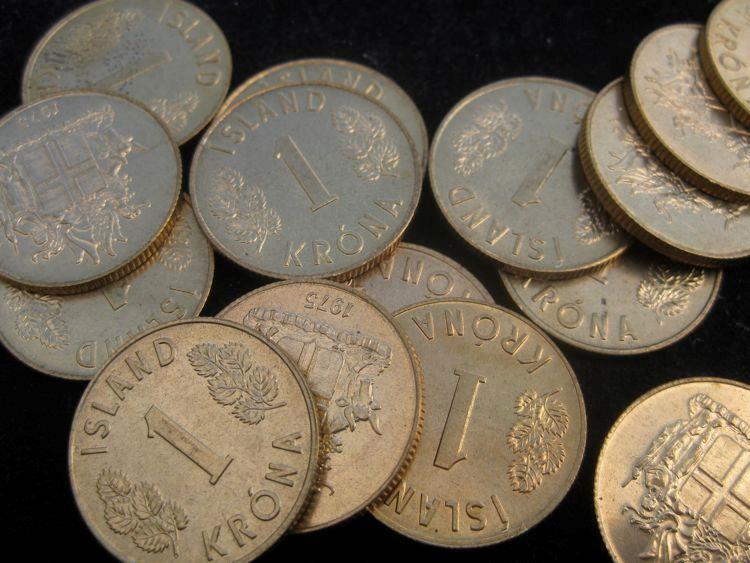 Iceland 1 Krona 1975 BU  KM12a lot of 25  BU coins #62