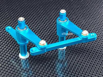 Aluminum steering Bellcrank +4 Bearings Fit T-maxx 15/21/2.5/3.3 E-maxx 3906