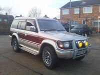 MITSUBISHI PAJERO 2.5 SUPER EXCEED TURBO DIESEL MUST SEE FULLY LOADED 7 SEATER