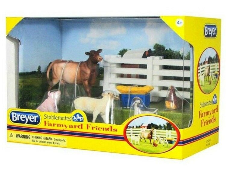 Breyer Stablemates Farmyard Friends Play Set #5365 NIB