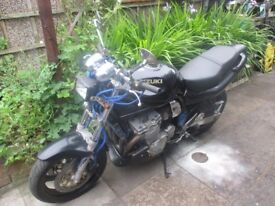 Suzuki gsf bandit 600 1997 spares or repairs project