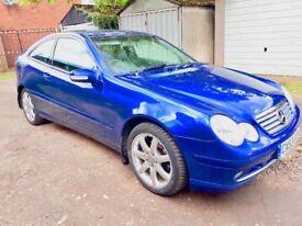 Mercedes C200 Kompressor Coupe