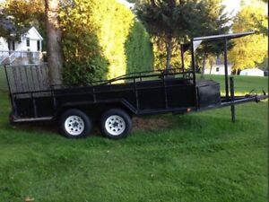 Remorque 2 essieux - 12'x5' - 5000 lbs