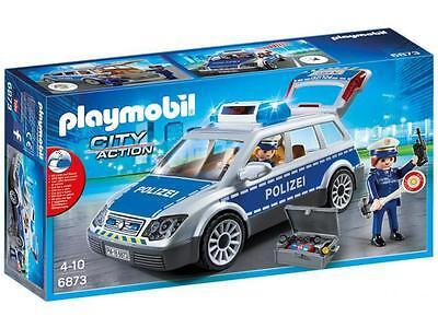 Playmobil City Action 6873 Polizei Einsatzwagen