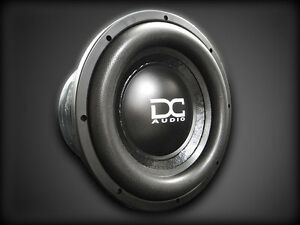 DC AUDIO SUBWOOFERS & AMPS - BRAND NEW