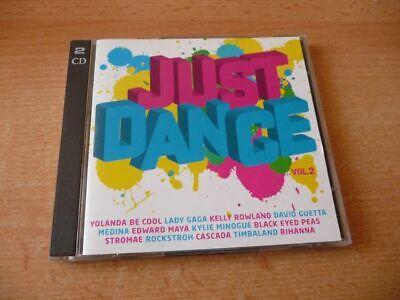 Doppel CD Just dance 2: Lady Gaga Cascada Stromae Yoland Be Cool Robyn Kesha ... d'occasion  Expédié en Belgium