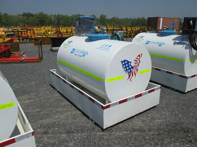 New Luciana 396 Gallon Fuel Tank Transfer Tank Storage Tank Gas Oil Diesel Bio