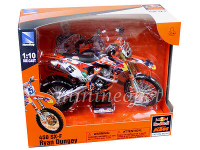 NEW RAY 57633 RED BULL KTM RACING FACTORY 450 SX-F #5 1/10 RYAN DUNGEY