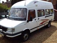 Bargain 2005 convoy sunseeker camper van fsh excellent condition