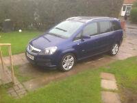 Vauxhall Zafira Sri 1.9 Cdti Panoramic roof 7 seater - Sports Mode **Reduced to Sell**