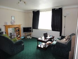 One bed ground floor flat with brand new boiler only £425pm