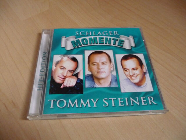 CD Tommy Steiner - Schlager Momente - Hit-Edition - 12 Songs