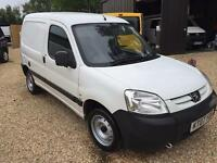 PEUGEOT PARTNER 800 LX SWB, White, Manual, Diesel, 2007