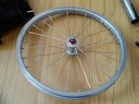 Brompton Folding Bike Superlight Front Wheel from Titanium Model