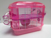 2 Storey Fantazia Pink And Purple Hamster Cage