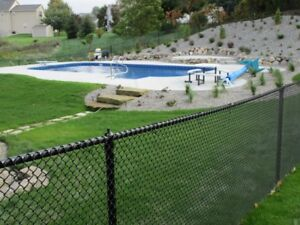 Black Chain Link Fence For Sale