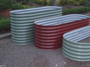 Raised Garden Beds Canberra Colorbond Made to measure 1 piece. Mitchell Gungahlin Area Preview
