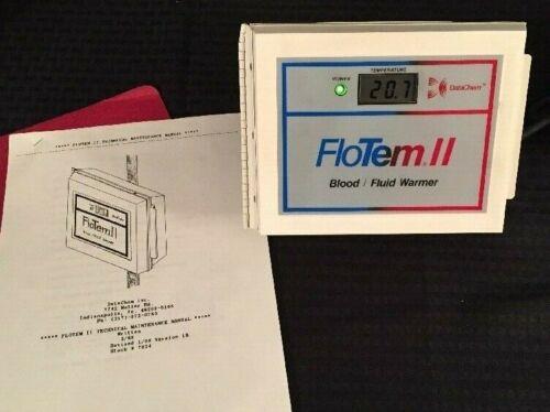 NEW DATACHEM FloTem II PortableBlood/Fluid Warmer w/Instructions See Descrip