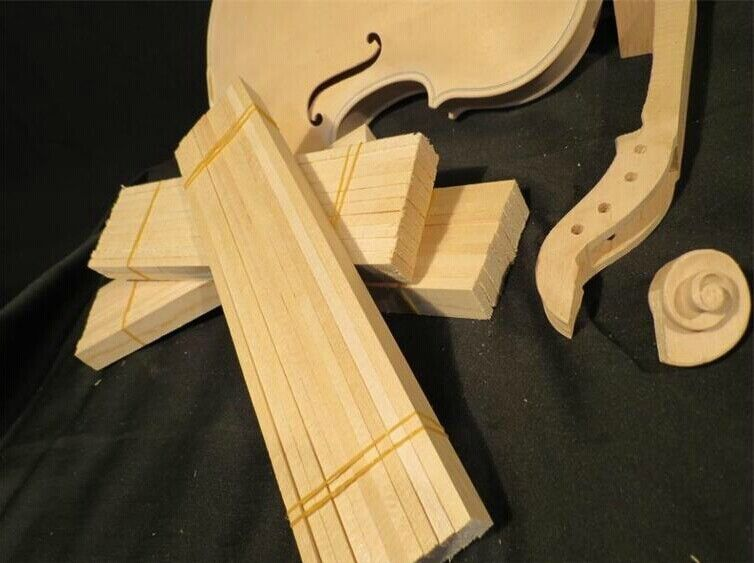 10pcs of viola bass bar made of aged Russia spruce wood
