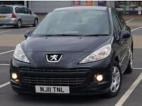 2011 Peugeot 207 1.4 HDi S 5 door [AC, BLUETOOTH] ** CAMBELT Done**, vauxhall corsa ford fiesta