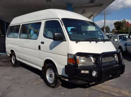 2004 Toyota Hiace Commuter bus/ van 3.0L diesel 12 seats $15,999 Highgate Hill Brisbane South West Preview