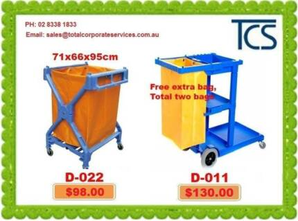 Janitor Carts Laundry/Housekeeping/Kitchen Trolleys Alexandria Inner Sydney Preview
