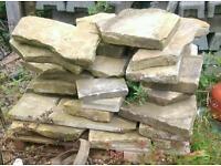 Pallet of York Stone