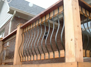 Belly Picket for Decking