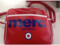Merc messenger bag..red...RRP £32.99...NOW only £20