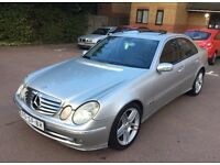 LHD LEFT HAND DRIVE MERCEDES-BENZ E280 CDI AVANTGARDE SALOON 2004 AUTOMATIC FULLY LOADED CLEAN!